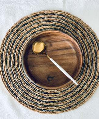 Braided Bancuan and Raffia Placemat 15