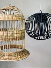 Load image into Gallery viewer, Big Belle Rattan Drop Lamp