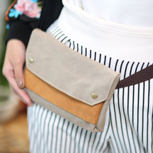 Load image into Gallery viewer, Crosby Waxed Canvas Belt Bag