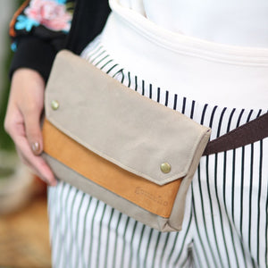 Crosby Waxed Canvas Belt Bag