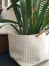 Load image into Gallery viewer, Bayong Planter White (Small to Extra Large)