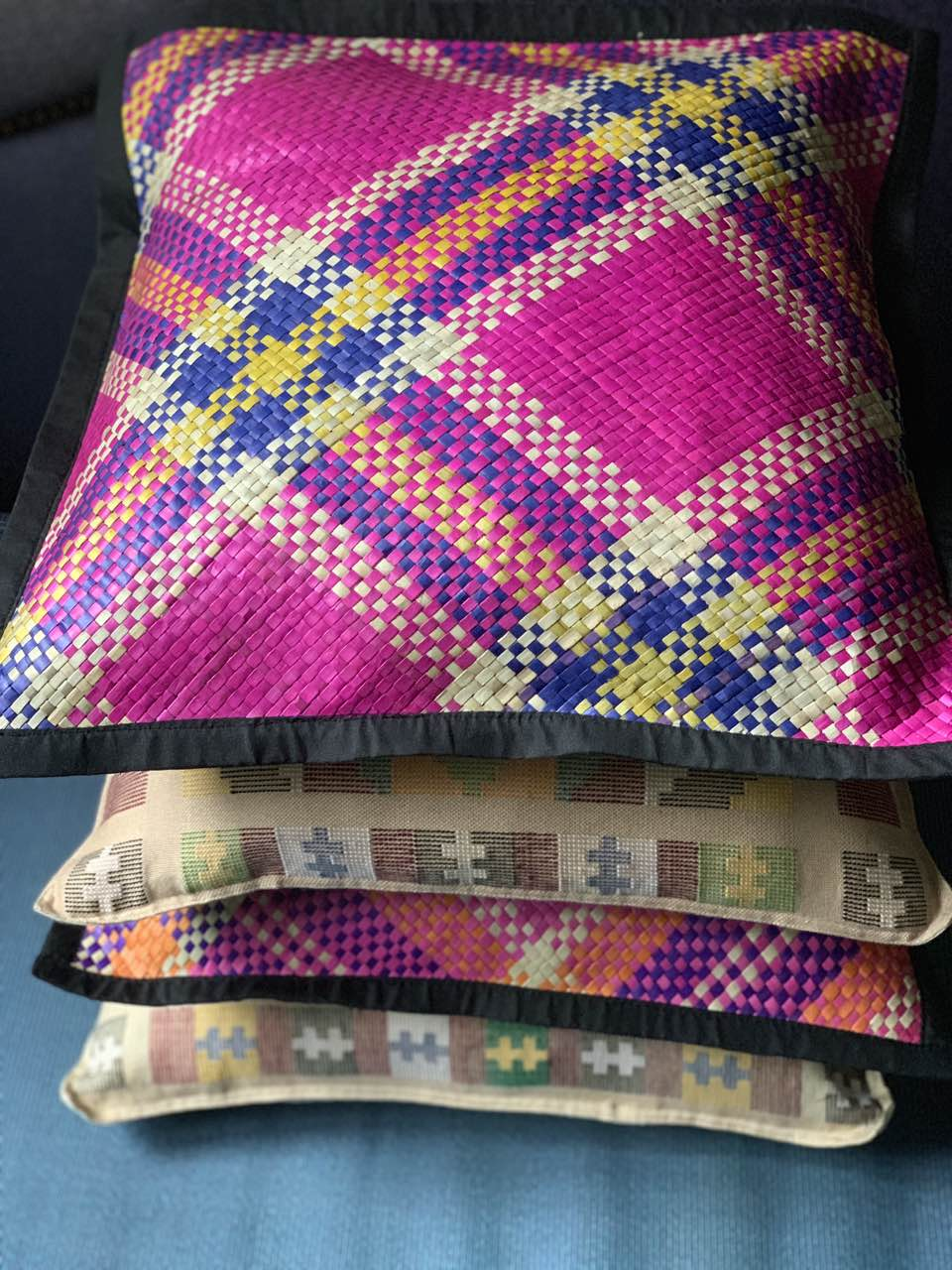 Tawi-Tawi Banig Throw Pillow