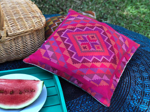 Yakan Throw Pillows - Various Colors