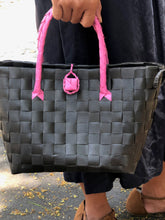 Load image into Gallery viewer, Pink Noir Petite Bayong Bag