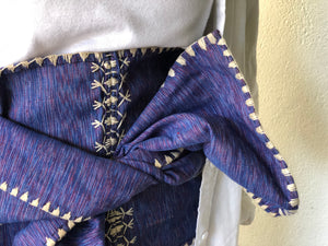Namarabar Scarf Belt Blue