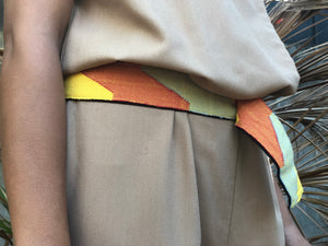 Marawi Belt in Yellow Orange Flag