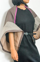 Load image into Gallery viewer, SOLD! Ponchosera 02 in Dark Brown and Premium Back to Back Binakol Weave