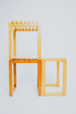 Stackable Stool / Side Table