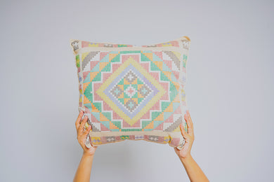 Yakan Neutral Pillow Case