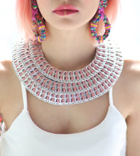 Load image into Gallery viewer, Marife Three Layered Pull Tabs Necklace