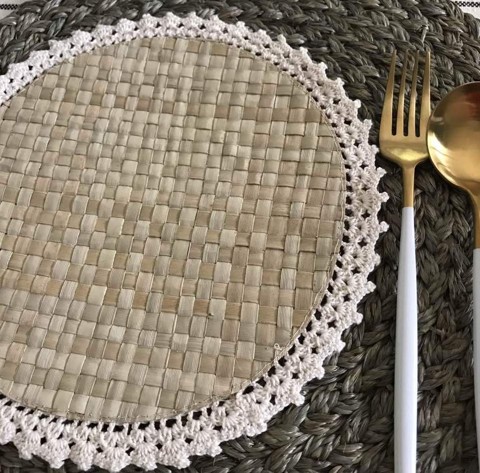 Pandan Crochet Placemat (set of 6)