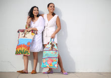 Load image into Gallery viewer, Patis Tesoro Hand Painted Bag by Children with Autism
