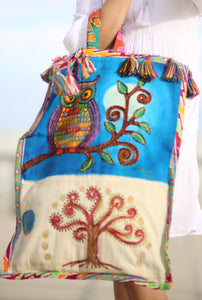 Patis Tesoro Hand Painted Bag by Children with Autism