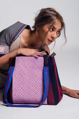 Gabriela 2: Two-Way Carry All Bag  (Ilocos, Isabela and Abra Weaves)