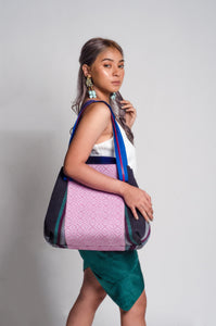 Gabriela 1: Two-Way Carry All Bag  (Ilocos and Isabela Weaves)