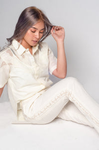 1960s Vintage Men's Barong as 2020s Women's Barong
