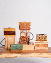 Load image into Gallery viewer, Busilak Woodcarved Handbag