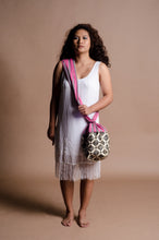 Load image into Gallery viewer, Mangyan Basket Sling Bag in Pink