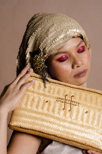 Mangyan Bamboo Clutch Bag