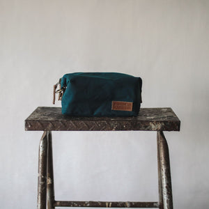 Sweeney Waxed Canvas Pouch - Sea Green