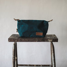 Load image into Gallery viewer, Sweeney Waxed Canvas Pouch - Sea Green