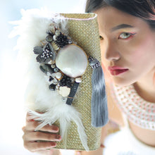 Load image into Gallery viewer, Tubbataha Semi Precious Stones Clutch