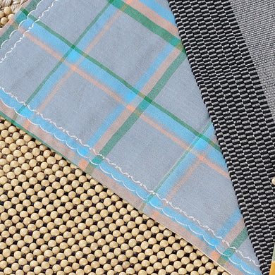 Hablon Napkin and Placemat Set in Blue