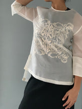 Load image into Gallery viewer, Jusi Barong Blouse with Beading and Embelishment by Jeannie Javelosa