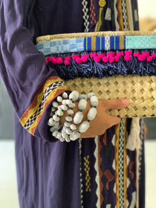 Oday's Pandan Clutch with Tassels