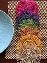 Load image into Gallery viewer, Raffia Coasters