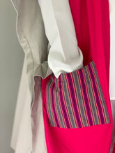 Load image into Gallery viewer, Glamorosa Poncho in Fuchsia with Handwoven Ifugao Pocket