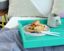 Load image into Gallery viewer, Mint Green Serving Tray