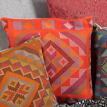 Load image into Gallery viewer, Yakan Throw Pillows - Various Colors
