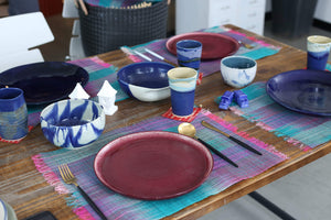Abaca Colored Placemat (Set of 6)