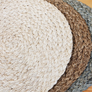 Round Abaca Charger Plate (set of 6)