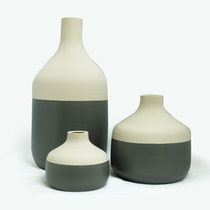Color Block Vase Set