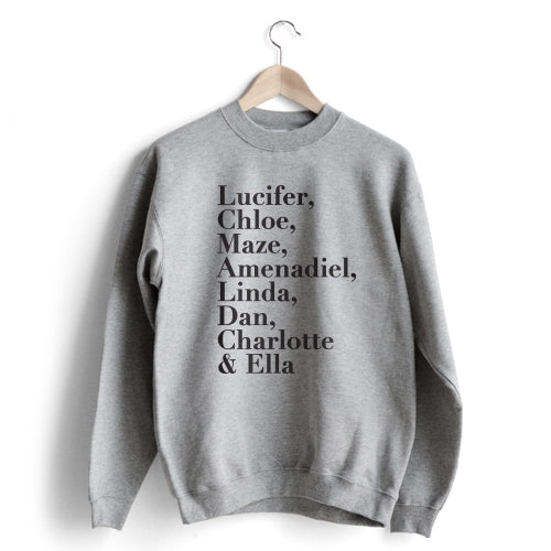 Names Sweatshirt