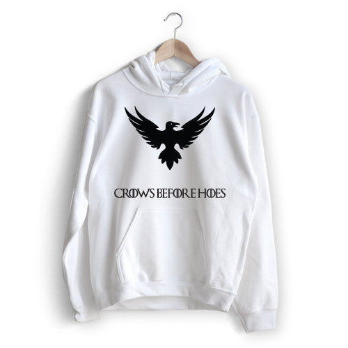 Night's Watch 'Crows Before Hoes' Hoodie