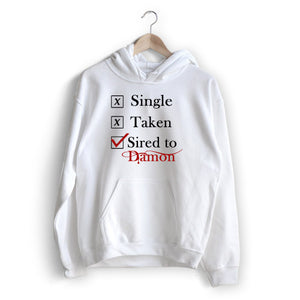 Single Taken Damon Hoodie