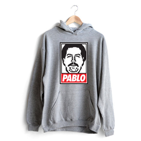 Pablo Face Hoodie