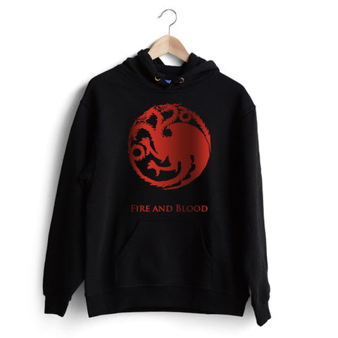 House Targaryen 'Fire and Blood' Hoodie