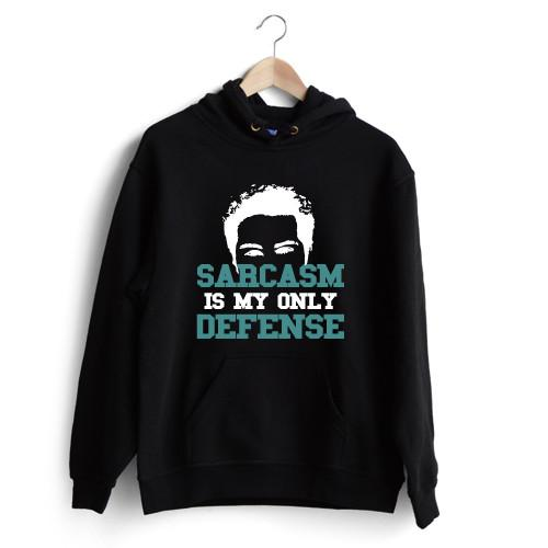 Sarcasm is my only defence Hoodie Sale - Size M