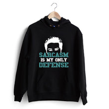 Carregar imagem no visualizador da galeria, Sarcasm is my only defence Hoodie