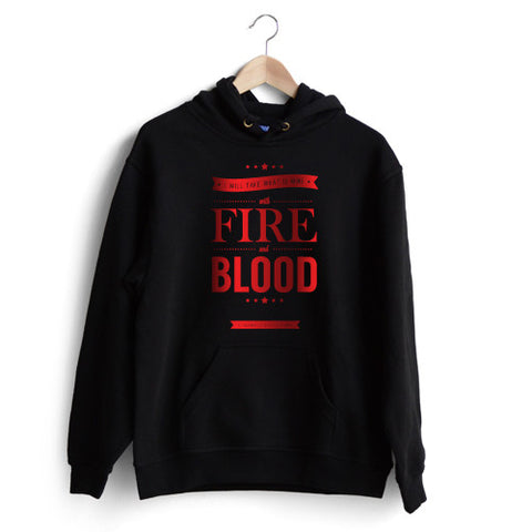 Daenerys Quotes 'Fire and Blood' Hoodie