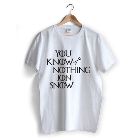 'You Know Nothing Jon Snow' T-Shirt