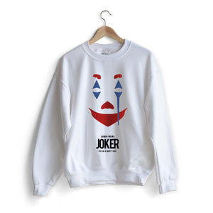 Joker Movie Poster Sweat