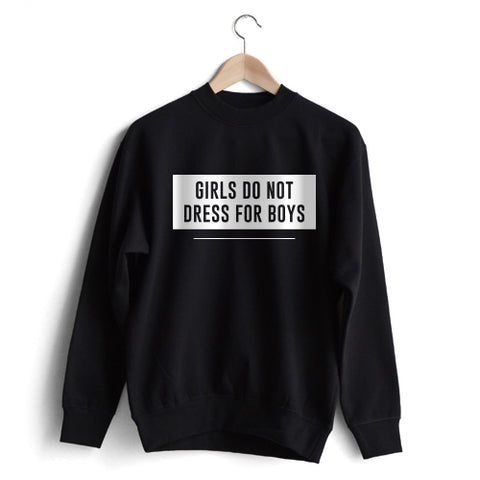 Don't dress for boys Sweat