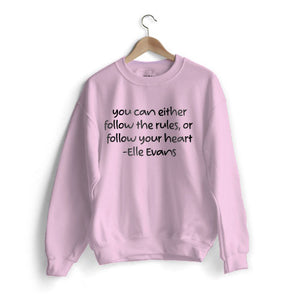 Elle Quote Sweat