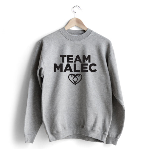 Team Malec Sweat Cinzenta