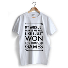 Carregar imagem no visualizador da galeria, Workout Hunger Games T-Shirt